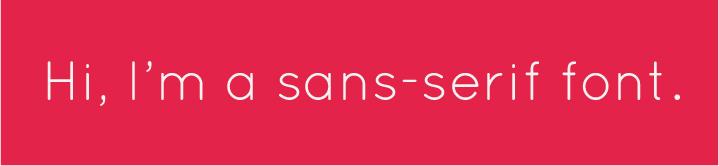 sans-serif font example-03